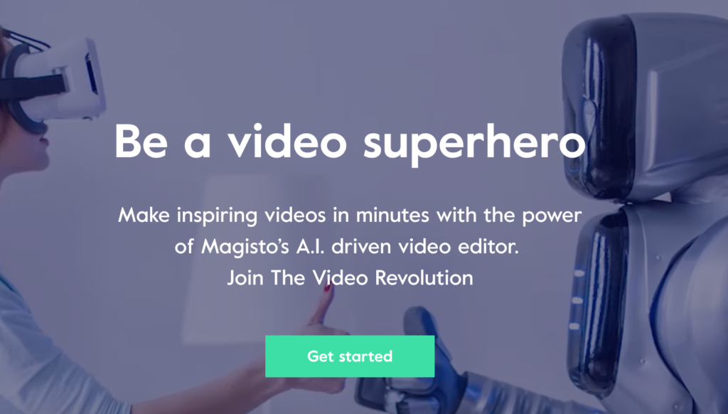 magisto video editing app