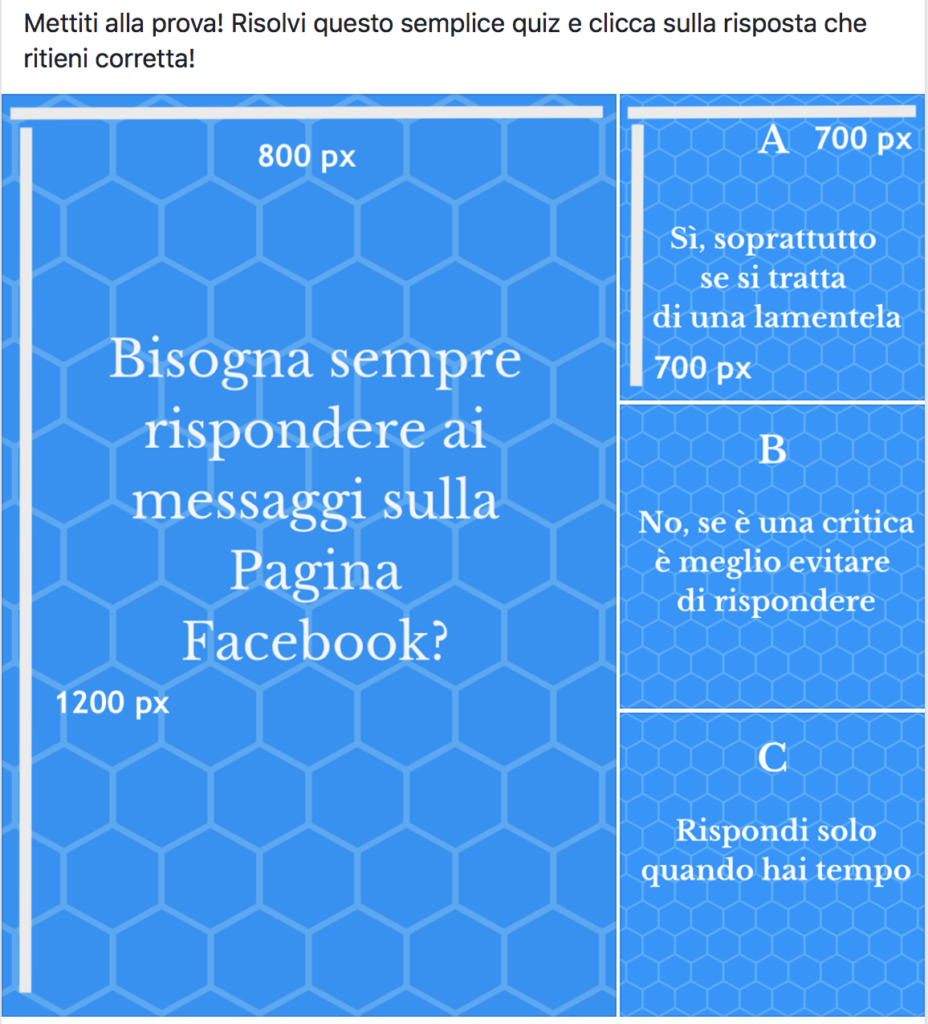 immagine quiz facebook