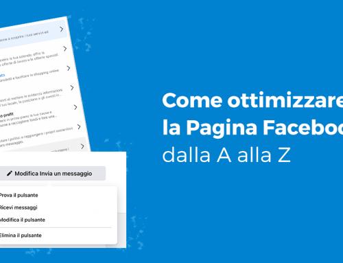 Come ottimizzare la Pagina Facebook dalla A alla Z