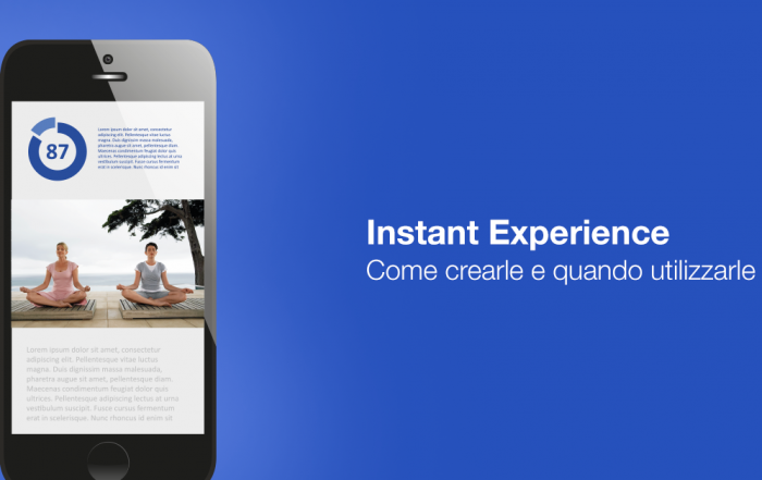 instant experience